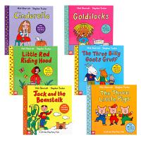 【全店300减100】现货 英文版原版绘本 A Lift-The-Flap Fairy Tale 6册经典童话故事英语