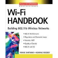 【预订】Wi-Fi Handbook: Building 802.11b Wireless Networks