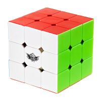 旋风小子魔方三阶实色顺滑3阶儿童学生专业比赛专用魔方玩具