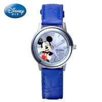 正品迪士尼儿童手表男孩男童防水米奇石英表迪斯尼男款小学生手表