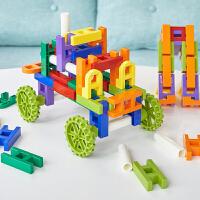 百变巧巧拼搭拼插积木塑料3-6周岁儿童建构拼装玩具男孩