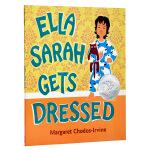【中商原版】萨拉就要这样穿 英文原版 Ella Sarah Gets Dressed 2004年凯迪克银奖绘本 2-6