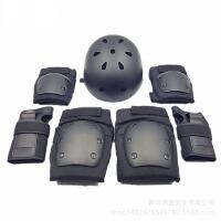 儿童护膝护肘套装 儿童轮滑护具套装平衡车扭扭车护具7件套溜冰护具