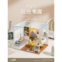 娃娃屋手工仿真房子�和�玩具女孩小公主生日�Y物7-8 9 10�q�^家家