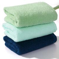 水星家纺全棉毛巾三条装