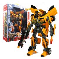 变形玩具 超变金刚4 大黄蜂 声光机器人模型儿童汽车玩具男孩