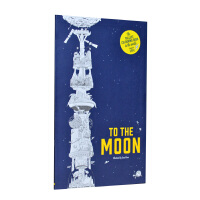 To the Moon The Tallest Colouring Book in the World 去月球:地球上