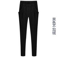 ZAH潮牌正品哈伦裤女士2017秋冬季新款宽松裤子显瘦小脚裤外穿