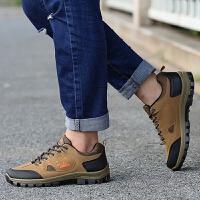 旅行爬山鞋轻便运动鞋春夏季透气登山鞋男耐磨防滑户外徒步鞋低帮