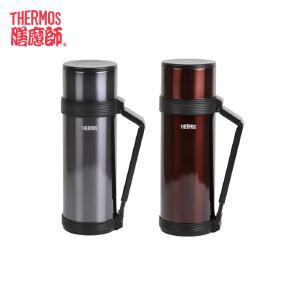 膳魔师/THERMOS不锈钢保温杯大容量男女便携户外杯子水壶HJC-1200包邮