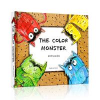 【现货】英文原版 Color Monster 我的情绪小怪兽 3D立体书POP-UP颜色认知情绪管理绘本 0-3-6岁