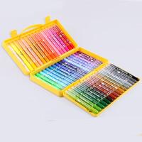 晨光旋转油画棒儿童蜡笔可水洗炫彩棒24色36色48色水溶炫绘棒