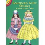 【预订】Southern Belle Sisters: Sticker Paper Dolls [With 21
