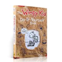 进口英文原版 Diary of a Wimpy Kid 小屁孩日记练习册 Do It Yourself Book 儿童