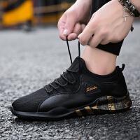 男鞋跑步鞋运动鞋男春季2018新款休闲透气时尚板鞋男