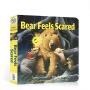 英文原版绘本 Days with Bear系列 Bear Feels Scared 小熊感到害怕 吴敏兰推荐 纸板书 0-3-6岁儿童启蒙英语 亲子共读