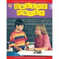 【预订】Making Words: Multilevel, Hands-On, Developmentally