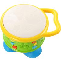 宝宝手拍鼓儿童拍拍鼓音乐婴儿早教智力1岁0-6-12个月3玩具