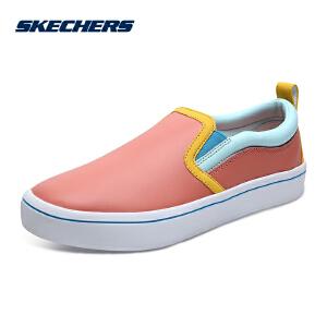 Skechers斯凯奇女鞋新款一脚套小白鞋板鞋 街头懒人休闲鞋 951