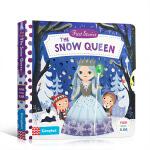 英文原版进口绘本 Busy系列童话篇 First Stories The Snow Queen 雪之女王 儿童启蒙学习