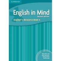 【预订】English in Mind Level 4 Teacher's Resource Book