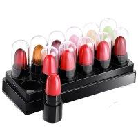 【春季新品】 12色口红保湿果冻变色唇膏学生款可爱小样套装 12色套盒