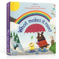 英文原版 What makes it rain?雨水怎样形成 科普读物 亲子阅读 一起探寻自然现象的奥秘