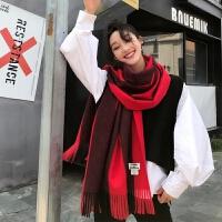 围巾女秋冬季韩版百搭新加厚保暖长款披肩两用学生围脖