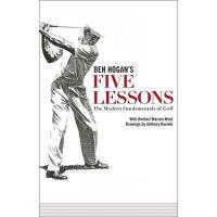 【预订】Five Lessons: The Modern Fundamentals of Golf