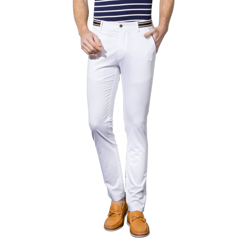 1号牛仔  男士春夏新款休闲裤商务百搭长裤子