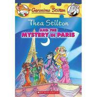 英文原版 老鼠记者特别版:巴黎的秘密 Thea Stilton and the Mystery in Paris