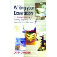 【预订】Writing Your Dissertation