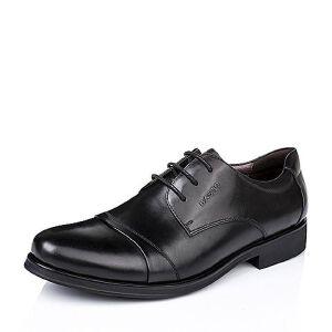 BASTO/百思图专柜同款牛皮男单鞋AKH05CM5
