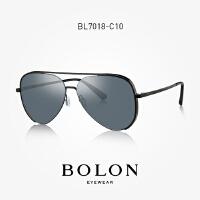 BOLON暴龙2018新款男士复古蛤蟆镜潮流时尚太阳镜个性眼镜BL7018