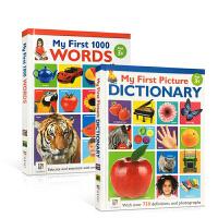 英文原版 My First Picture Dictionary/My First 1000 Words 我的启蒙认知