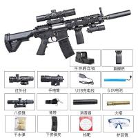 电动玩具枪M4A1m416突击步抢98KAWM可发射水晶弹电动连发水蛋下供弹绝地求生儿童吃鸡玩具枪
