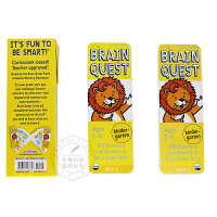 Brain Quest Kindergarten 少儿智力开发系列:5-6岁益智 智力开发卡片【英文原版童书 美国学前全科练习、大脑任务练习册低幼版】