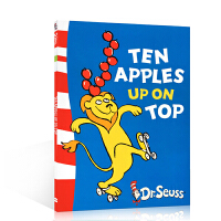 【全店300减100】英文原版 DR.SEUSS:Ten Apples Up on Top 苏斯博士系列 少儿读物3-6