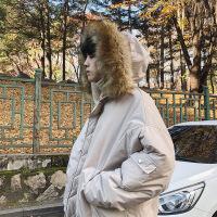 冬季宽松棉衣男士韩版潮流外套棉袄工装大毛领加厚2018新款