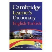 【预订】Cambridge Learner's Dictionary English-Turkish [With