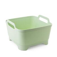 塑料洗菜篮洗菜篮子厨房洗菜盆家用沥水水果盆水果篮沥水篮