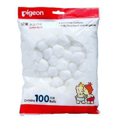 贝亲卫生棉球100只装 卫生棉球 KA08收藏店铺送3元无门槛卷,评价晒图送10元优惠卷