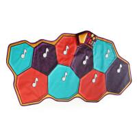 美国B.Toys 音乐跳舞毯 灯光电子混音音效幼儿游戏毯音乐砖跳舞垫
