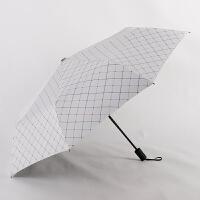雨伞折叠三折女黑胶防晒遮阳太阳伞防紫外线晴雨两用伞