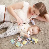 0-3-6-12个月1-2岁婴儿玩具 摇铃宝宝牙胶婴幼儿