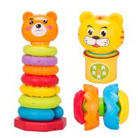 叠叠乐杯套圈彩虹圈0-6个月宝宝儿童婴儿玩具益智套塔积木1-3岁