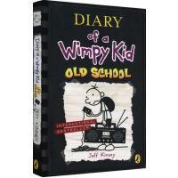 小屁孩日记10英文原版小说入门级 Diary of a Wimpy Kid Old School 儿童文学 漫画跑酷游