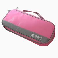 博纳屋 防水旅行收纳袋 洗漱用品收纳包 单只装粉色29*12*6CM