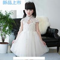 婚纱礼服白雪公主裙花童晚礼服大童女童生日钢琴主持人演出服