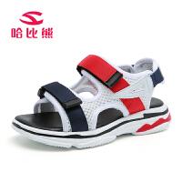 哈比熊儿童凉鞋夏季新款男童凉鞋男女童沙滩鞋小孩凉鞋韩版